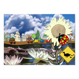 Ladybug Town Card