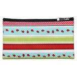 Ladybug Trail Cosmetic Bag