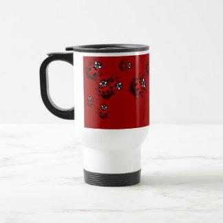 Ladybug Travel Mug Beer Glass Ladybug  Cup