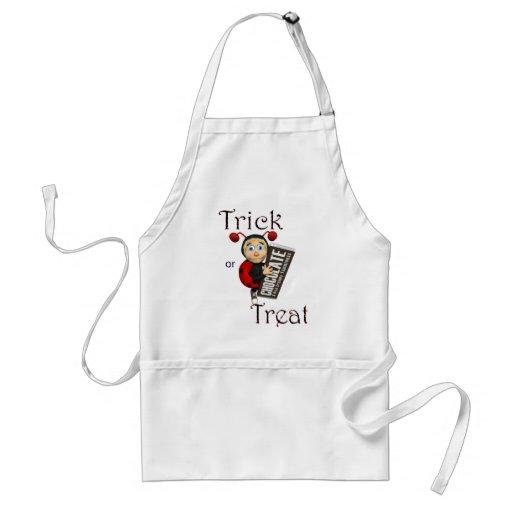 ladybug.tricktreat adult apron
