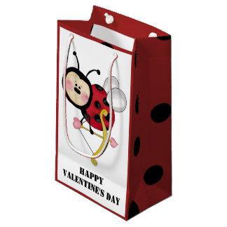 Ladybug Valentine's small gift bag