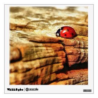 Ladybug Room Sticker