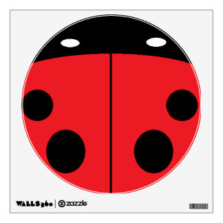 Ladybug Room Decal