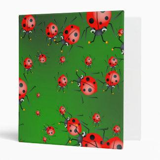 Ladybug Wallpaper Binder