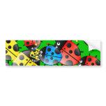Ladybug Wallpaper Bumper Stickers
