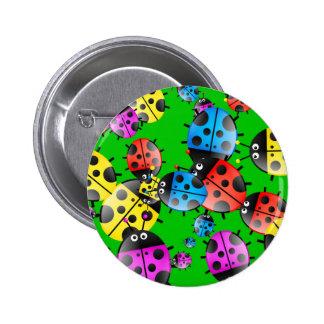 Ladybug Wallpaper Button