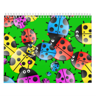 Ladybug Wallpaper Calendars