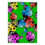 Ladybug Wallpaper Greeting Cards