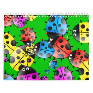 Ladybug Wallpaper Calendar