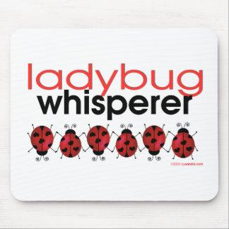Ladybug Whisperer Mouse Pads