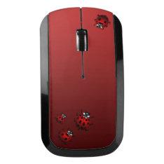 Ladybug Wireless Mouse Customized Ladybug Gifts at Zazzle