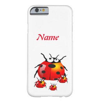 ladybug with baby ladybugs barely there iPhone 6 case