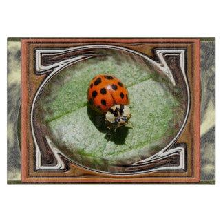 LadyBug with frames ~ Cutting Board