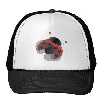 Ladybug with Open Wings Mesh Hats
