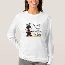Ladybug with Pencil Teacher's T-Shirt