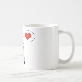 Ladybug With Speech Bubble Coffee Mug