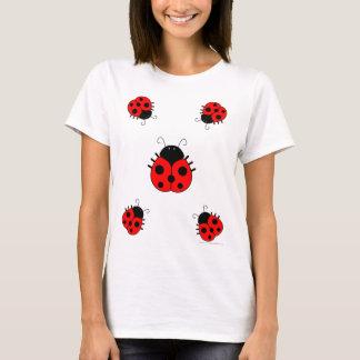 Ladybug Womens T-Shirt