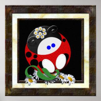 Ladybugette Poster