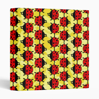 "LADYBUGS 1"" Ring Binder"