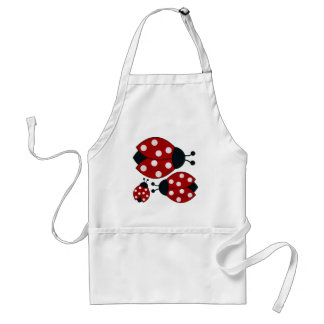 Ladybugs Adult Apron