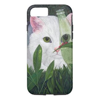 Ladybugs and Cat iPhone 7 Case