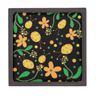 Ladybugs and flowers 3 gift box