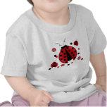 ladybugs and Polka Dots T-Shirt