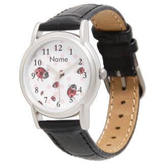 Ladybugs and Polka Dots Wrist Watch