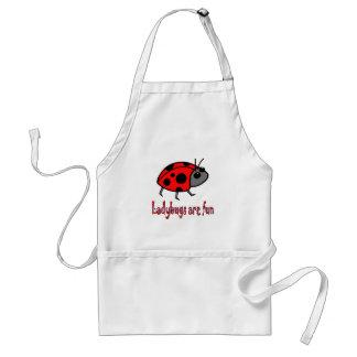 Ladybugs are Fun Apron