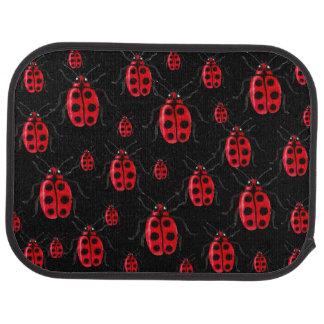 Ladybugs Art Car Floor Mat