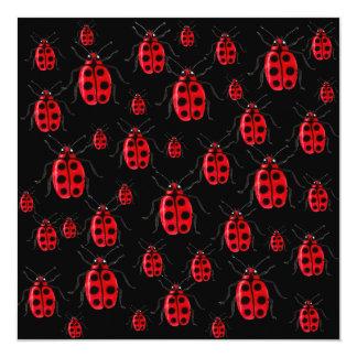 Ladybugs Art Card