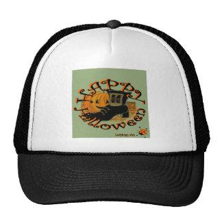 "Ladybugs Art  ""Halloween"" Trucker Hats"