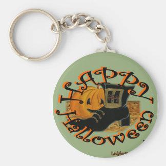 """Ladybugs Art  """"Halloween"""" Keychain"""