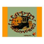 """Ladybugs Art  """"Halloween"""" Postcard"""