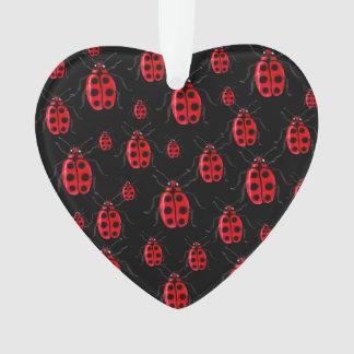 Ladybugs Art Ornament
