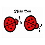 Ladybugs Art Postcard