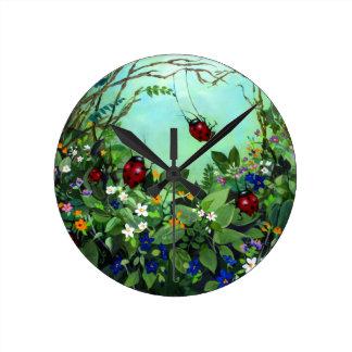 Ladybugs At Play Clock