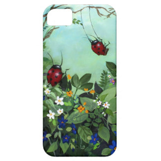 Ladybugs At Play iPhone5 Case iPhone 5 Case