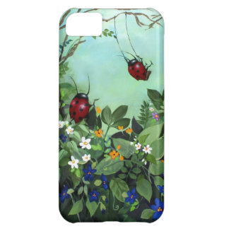 Ladybugs At Play iPhone5 Case Cover For iPhone 5C