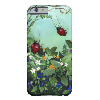 Ladybugs At Play iPhone 6 case