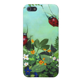 Ladybugs At Play iPhone Case iPhone 5 Cover