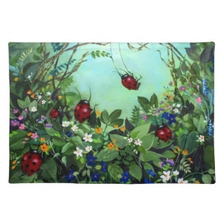 Ladybugs At Play Placemat