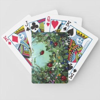 Ladybugs At Play Playing Cards II