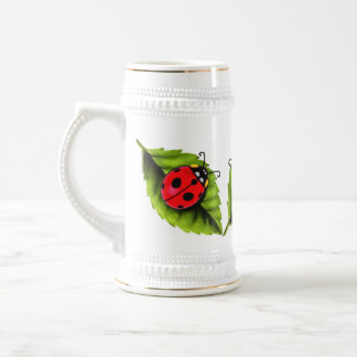 Ladybugs Beer Stein