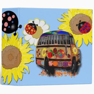 Ladybugs Vinyl Binders