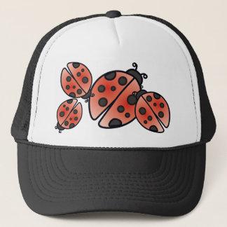 LADYBUGS by SHARON SHARPE Trucker Hat