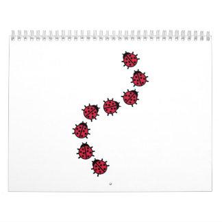 Ladybugs Calendar