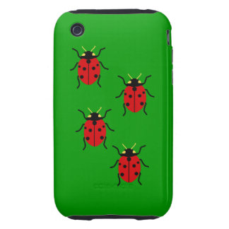 Ladybugs Tough iPhone 3 Covers
