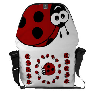 Ladybugs Courier Bag
