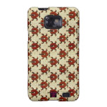 Ladybugs Cross-Stitch Embroidery Design Samsung Galaxy SII Cases